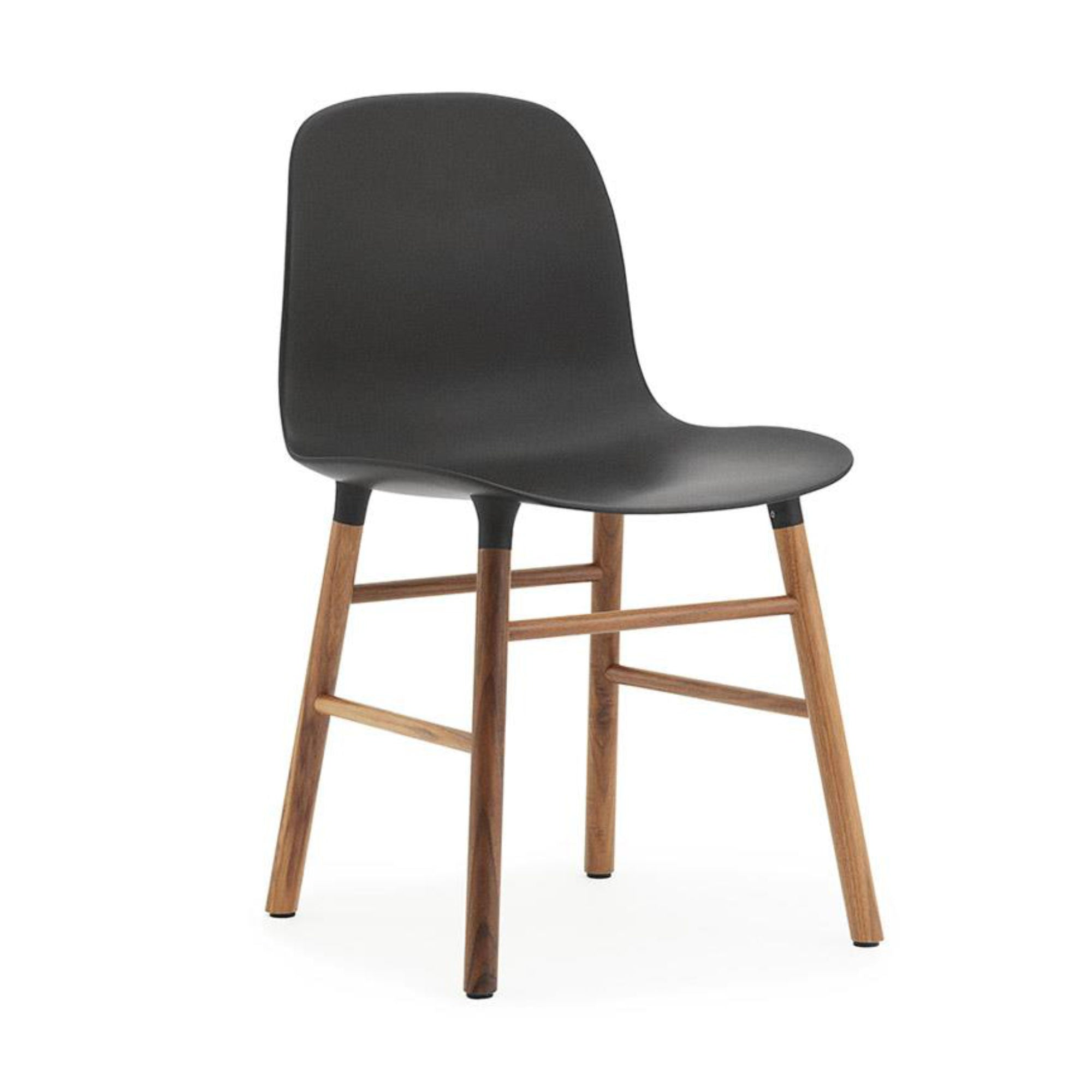Normann Copenhagen Form Chair , Walnut/Black