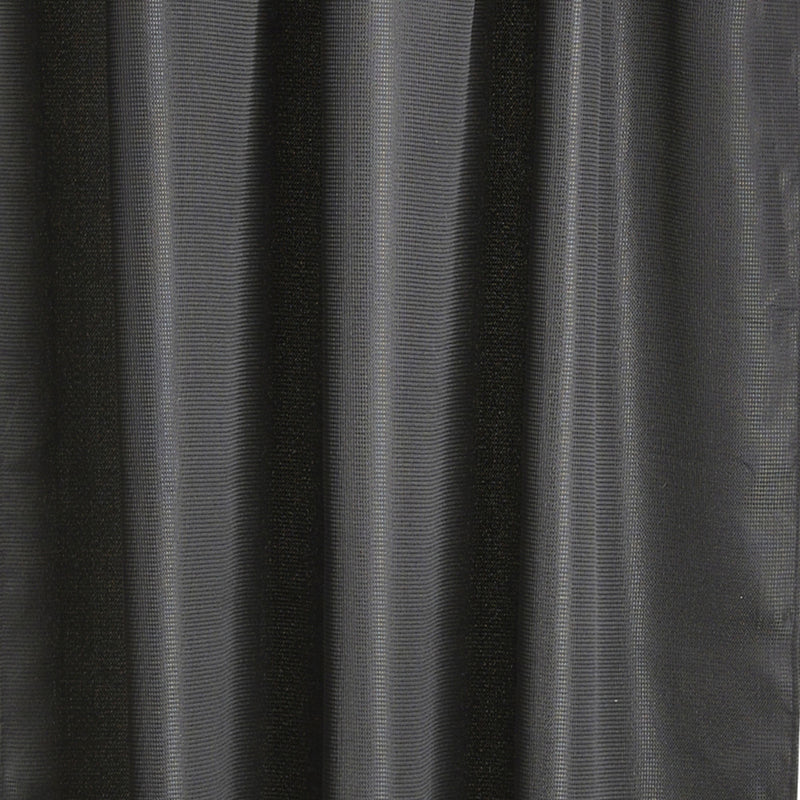 Zone Denmark Lux Shower Curtain , Black