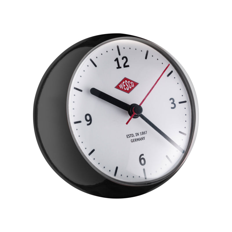 Wesco Mini Clock Kitchen Time , Black