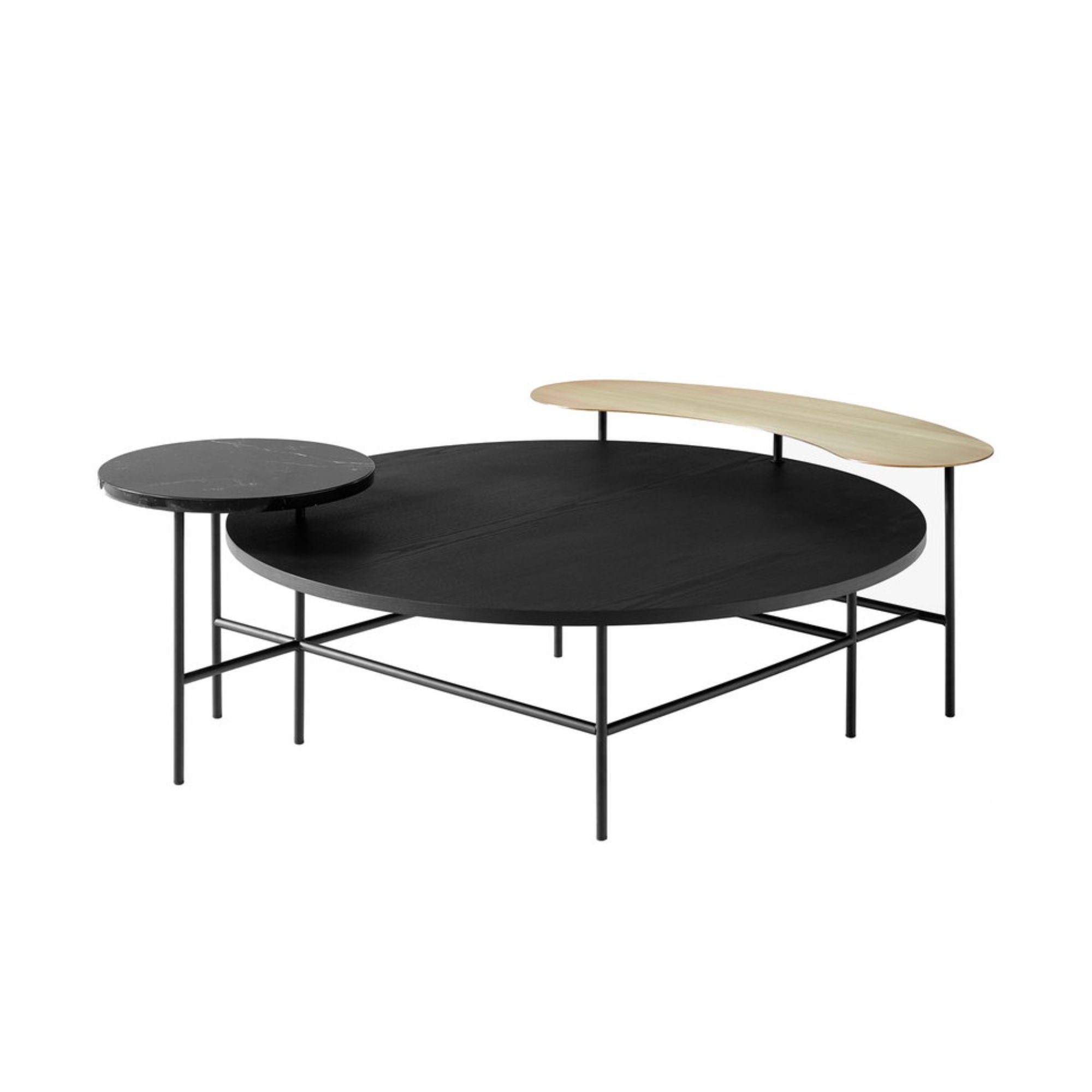 &Tradition JH25 Palette Lounge Table , Black