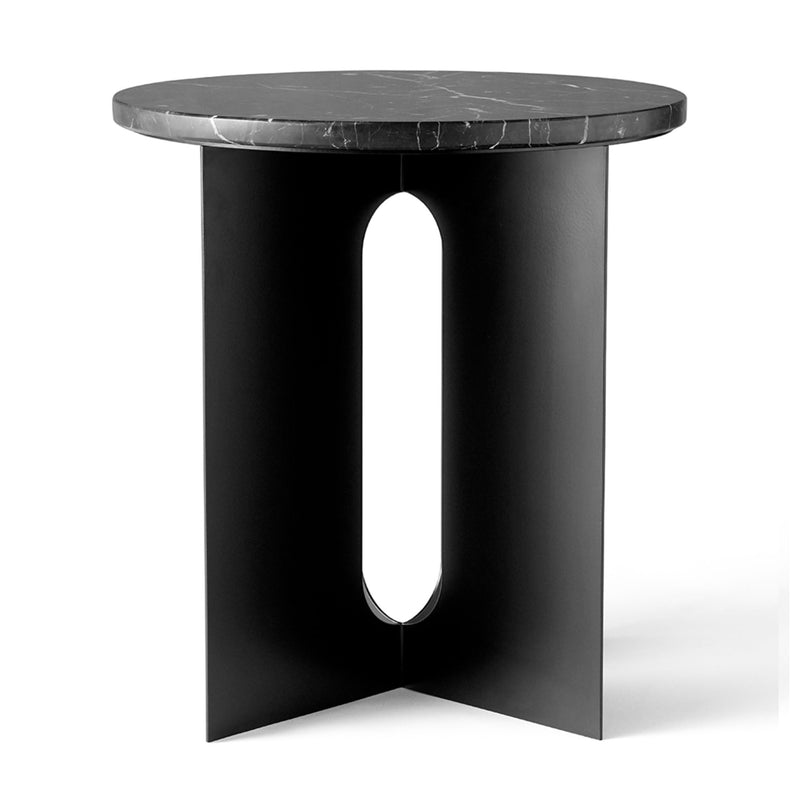 Menu Androgyne Side Table , Black Steel