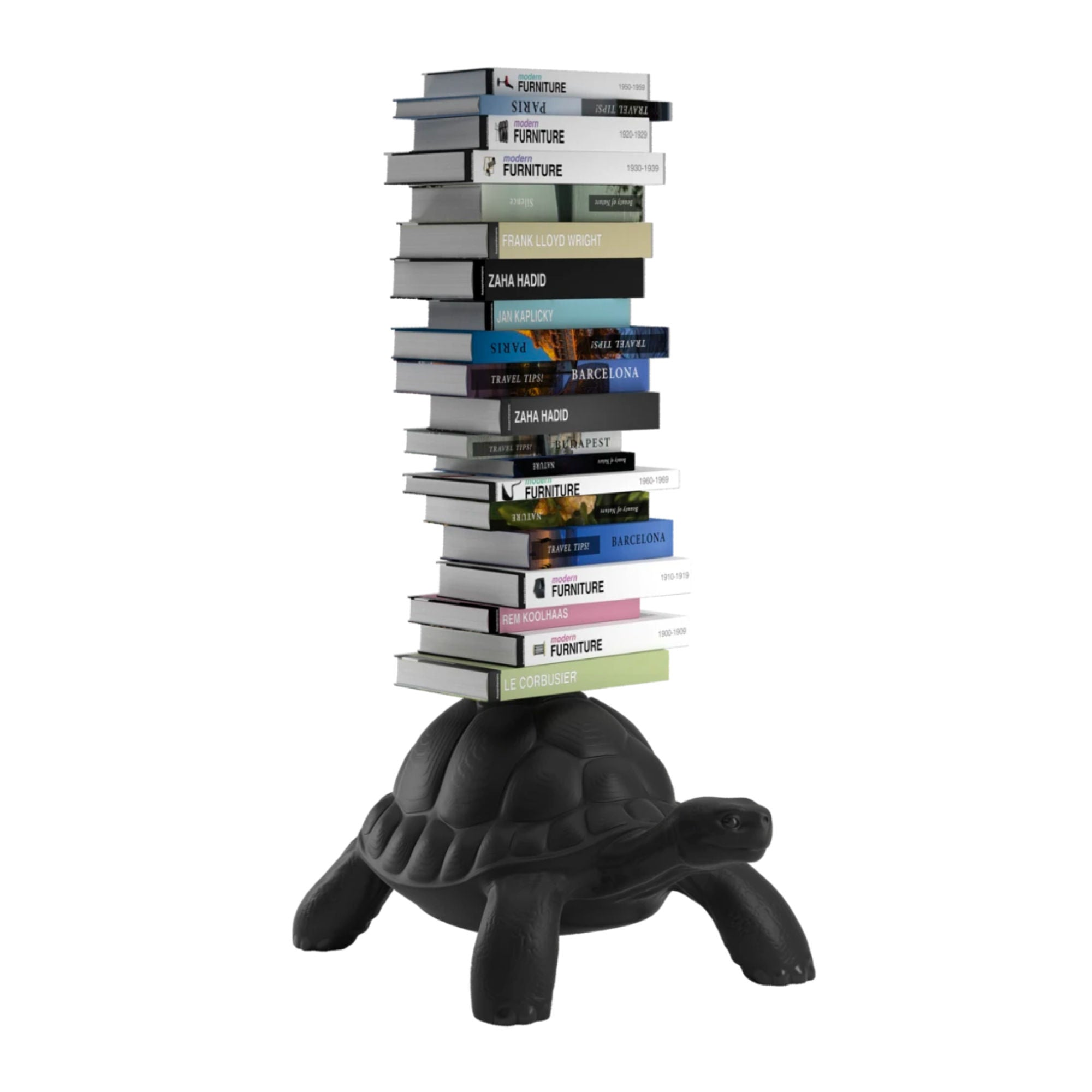 Qeeboo Turtle Carry Bookcase , Black