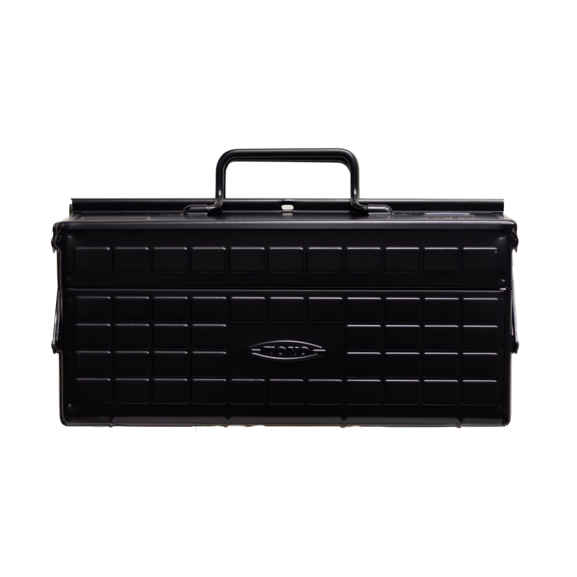 Toyo ST-350 Steel Toolbox , Black