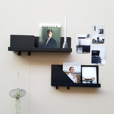 Muuto Folded Shelves 51x22cm , Black