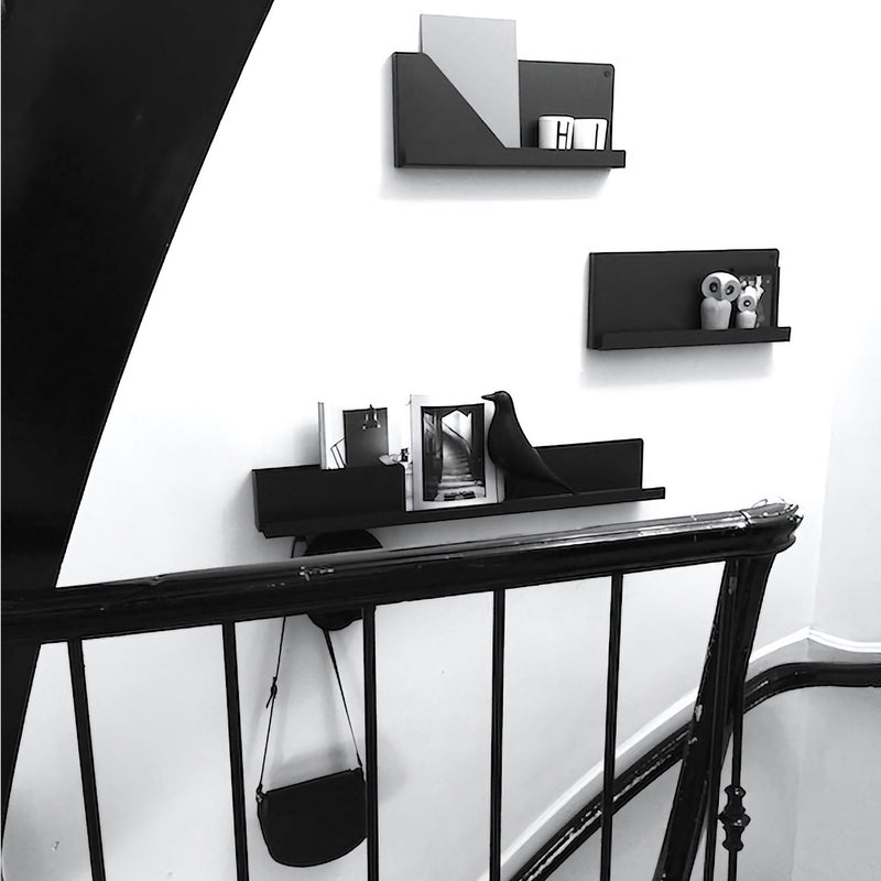 Muuto Folded Shelves 63x16,5cm , Black