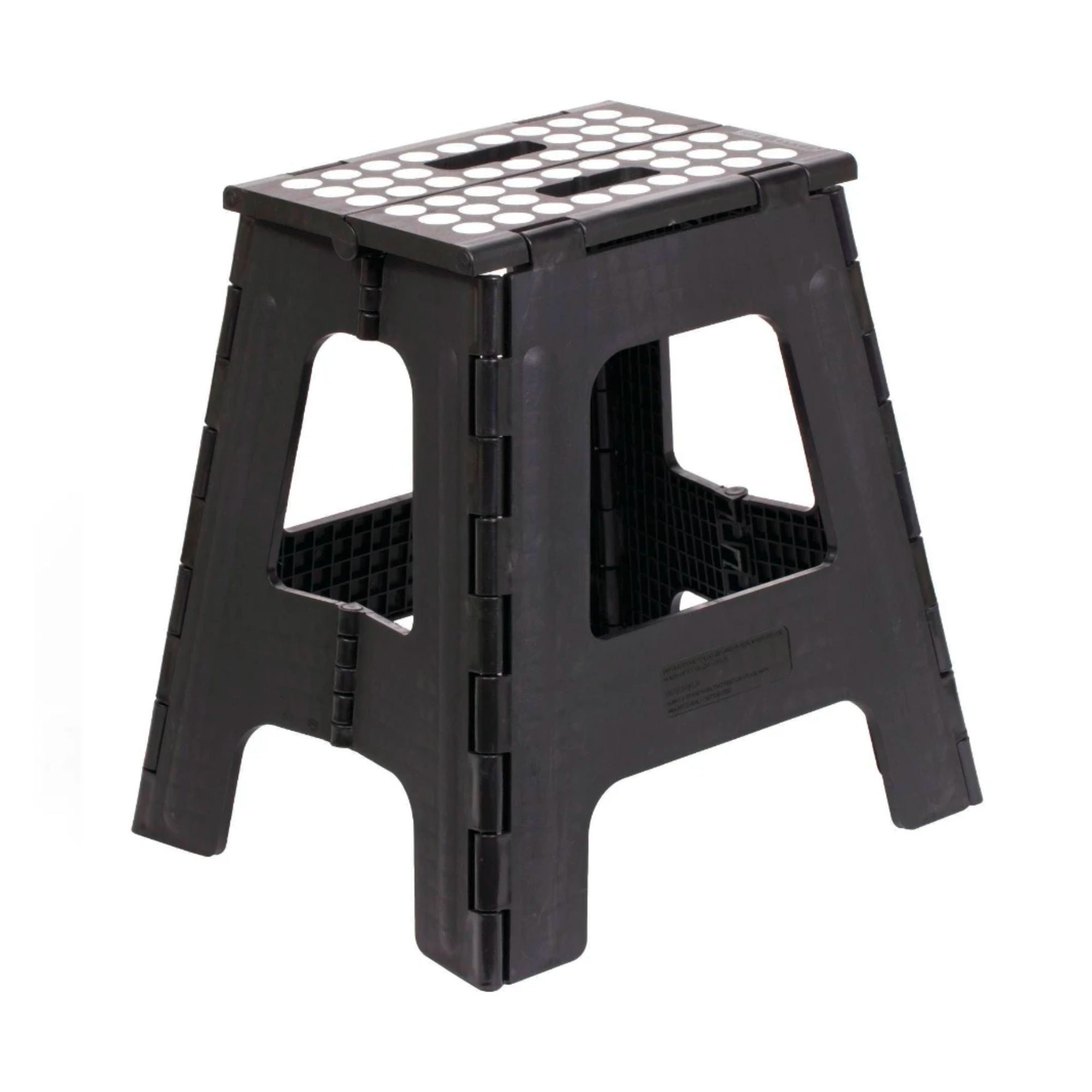Kikkerland Rhino II Folding Step Stool 40cm , Black