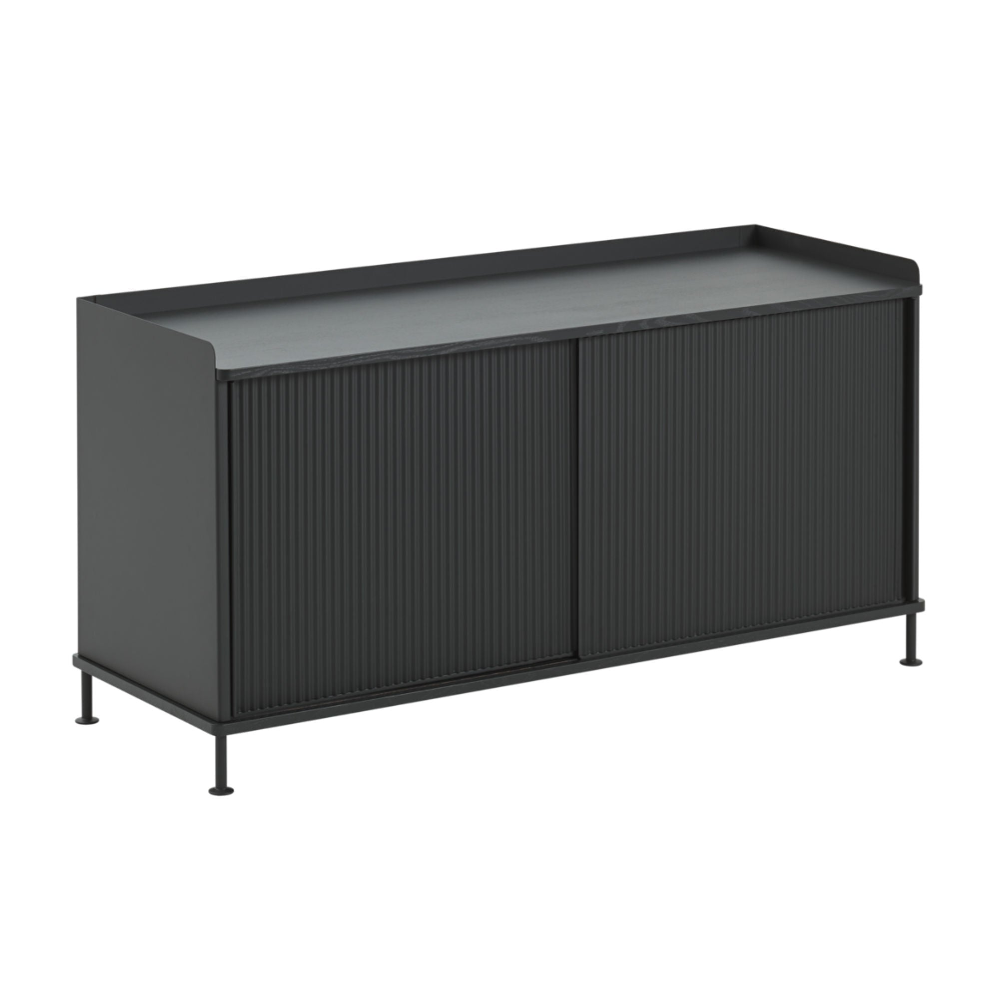 Muuto Enfold Sideboard Low , Black/Black