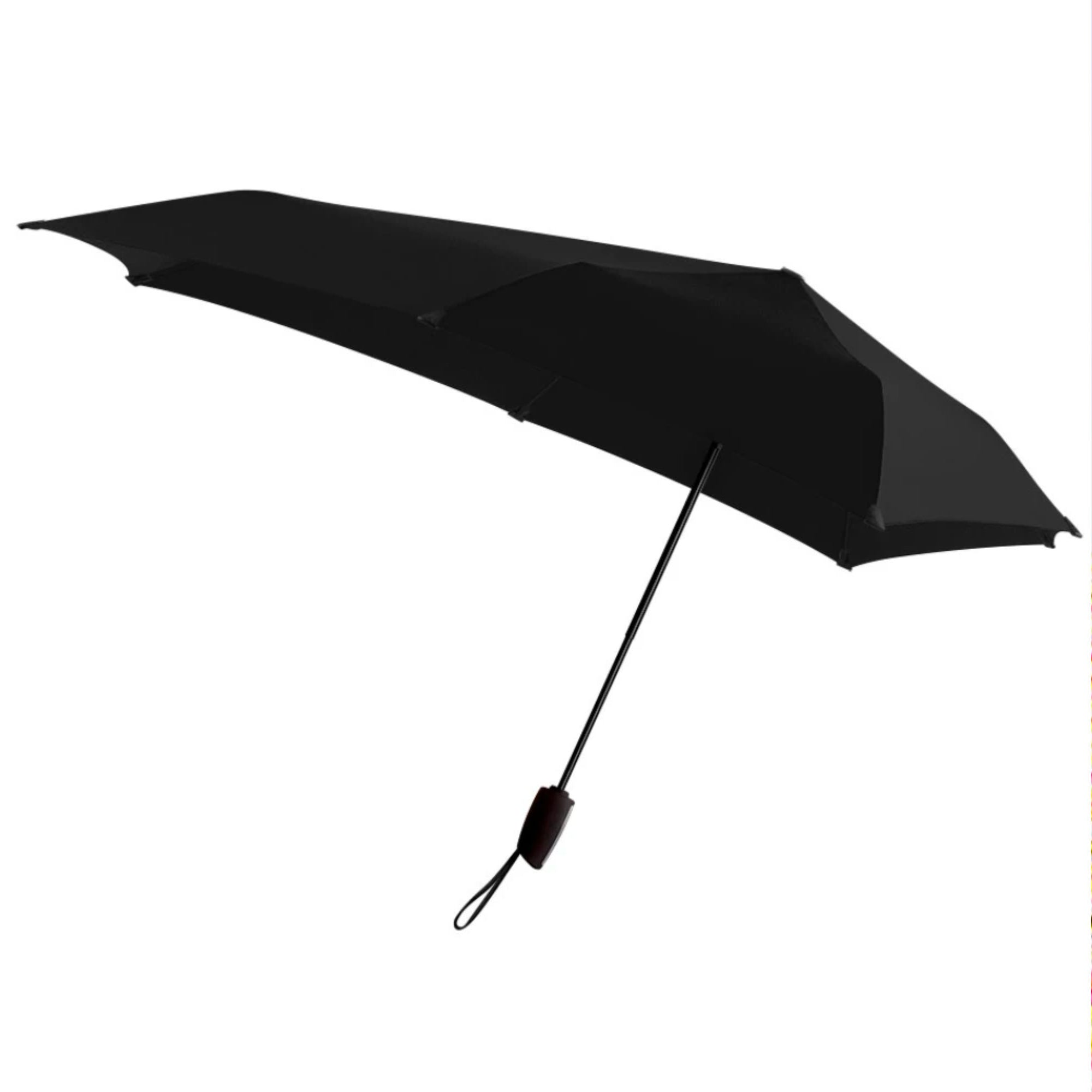 Senz° Automatic foldable umbrella, pure black