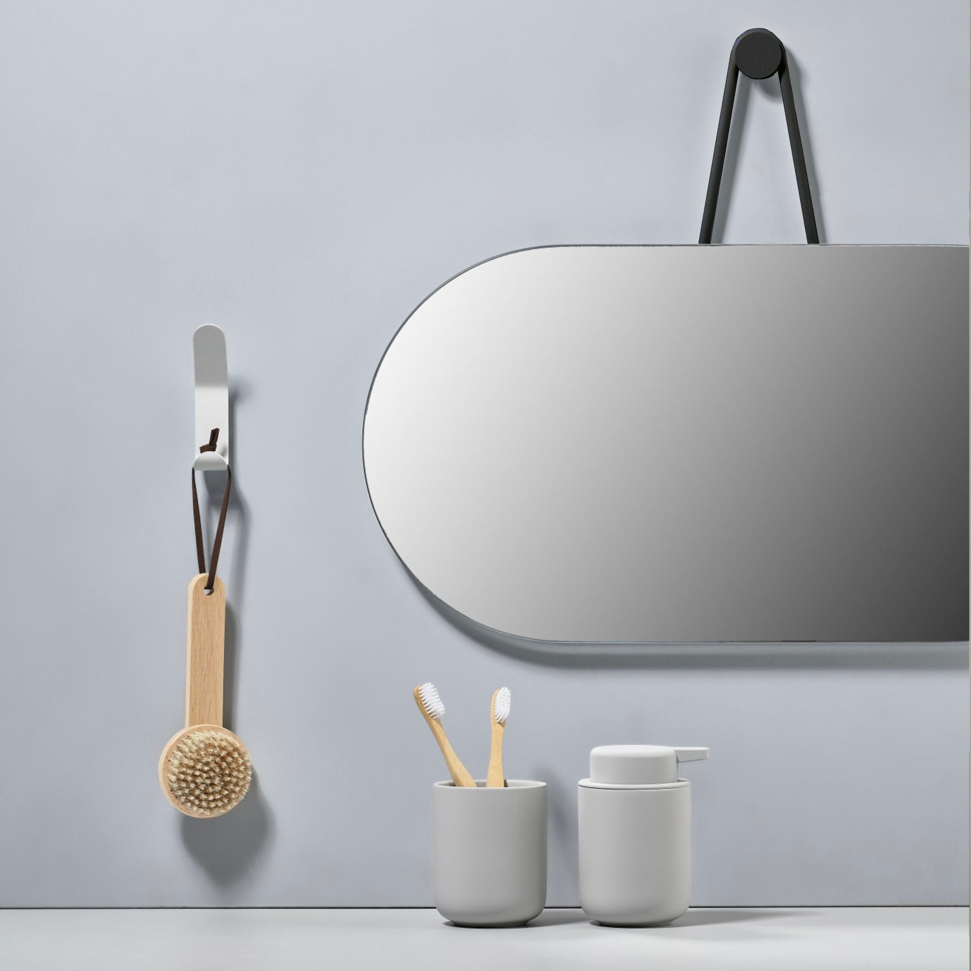Zone Denmark A Wall Mirror , Black
