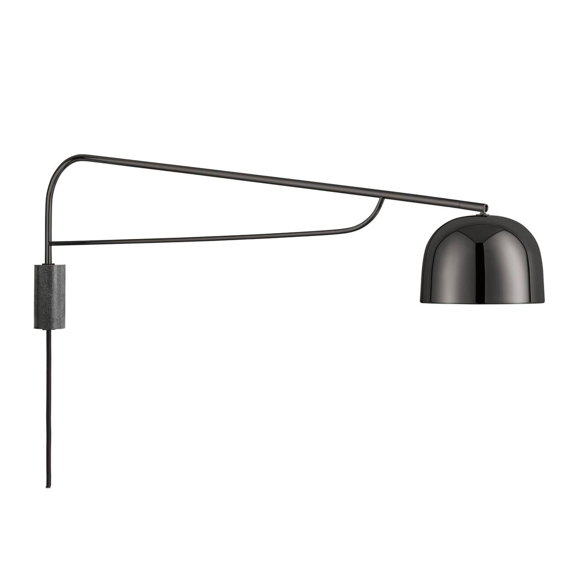 Normann Copenhagen Grant Wall Lamp 111cm , Black