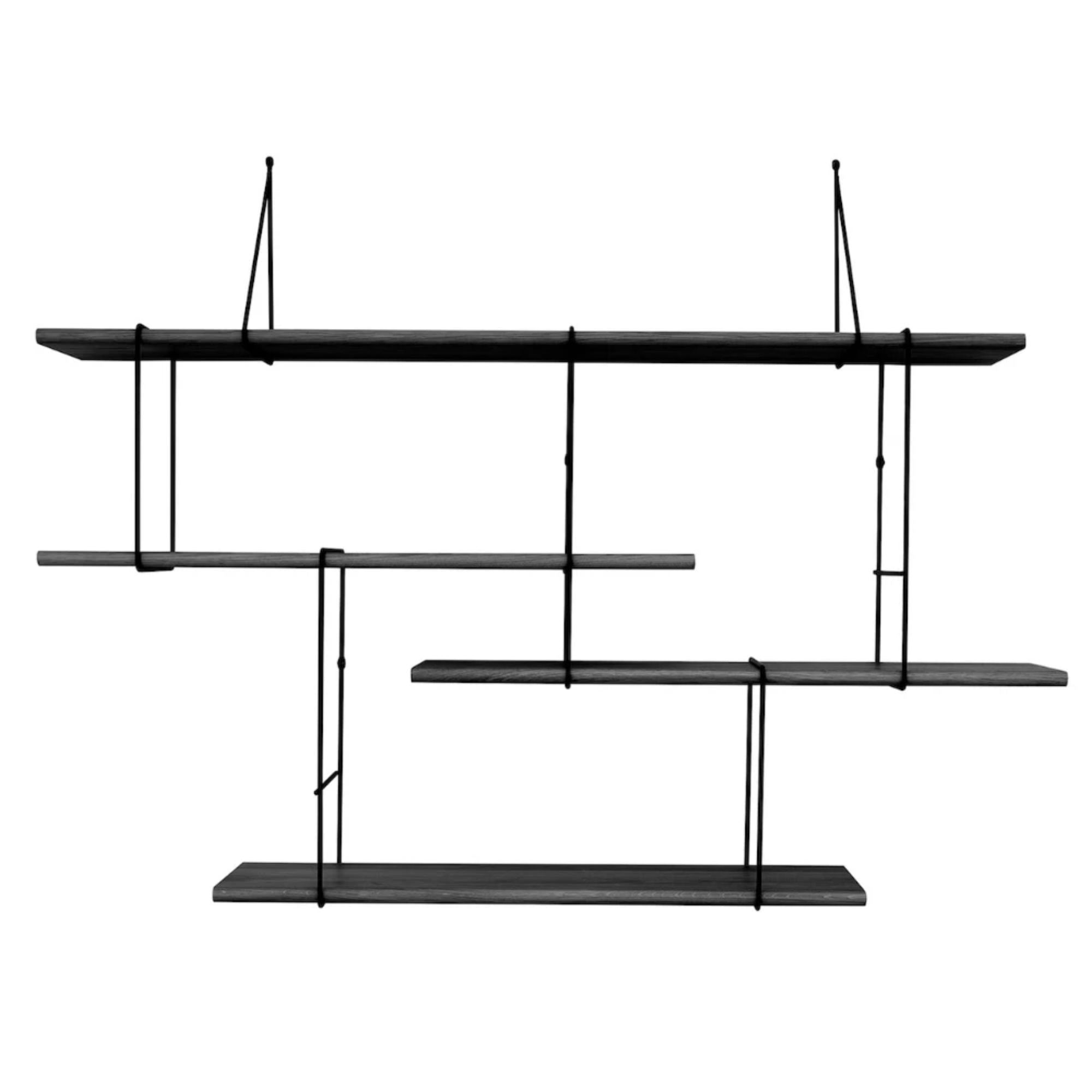 Studio Hausen Link Shelf Setup1 , Black