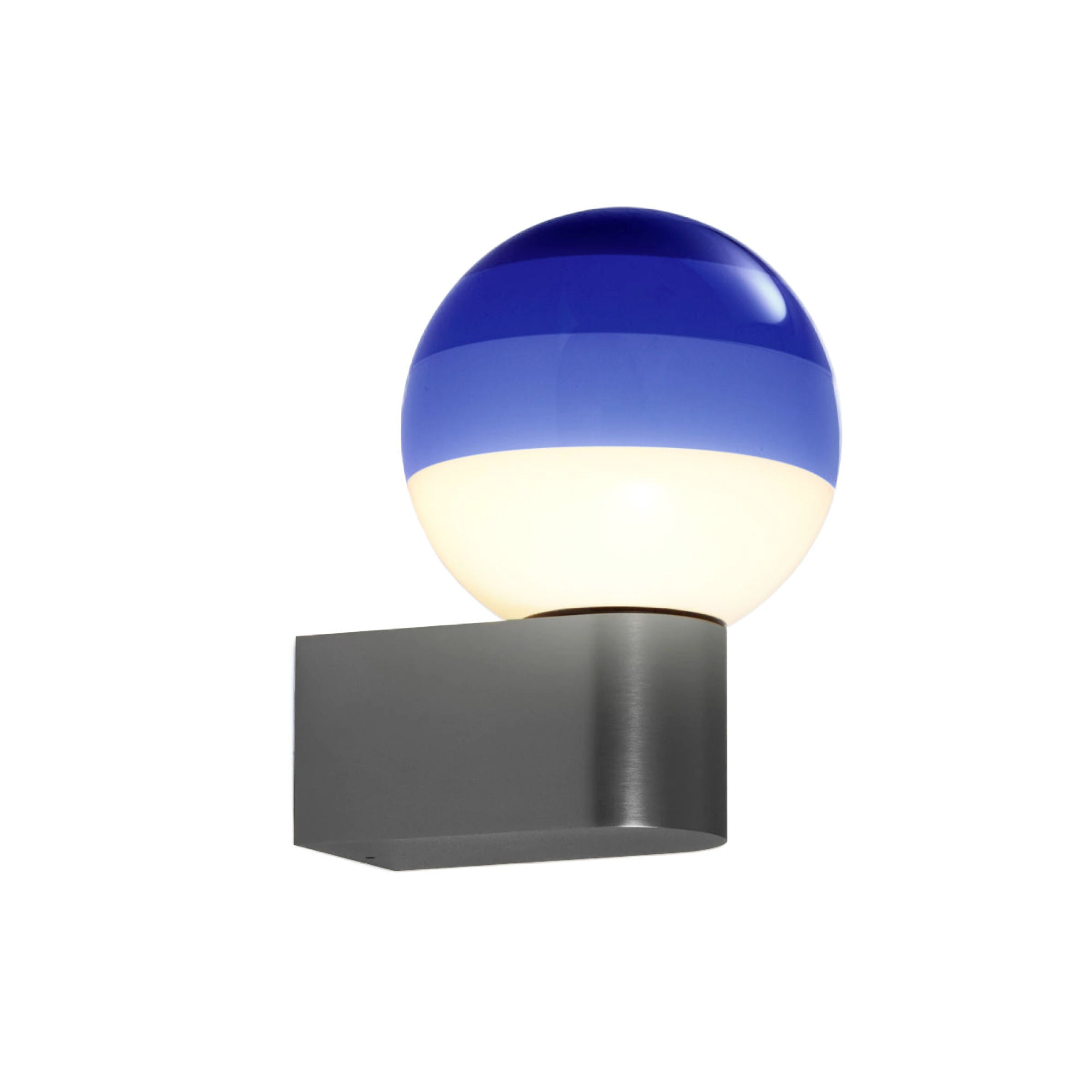 Marset Dipping light A1-13 wall lamp, blue