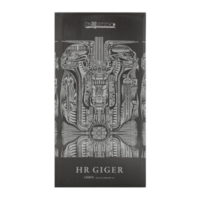 BE@RBRICK H.R.Giger Black Chrome Ver. 1000%