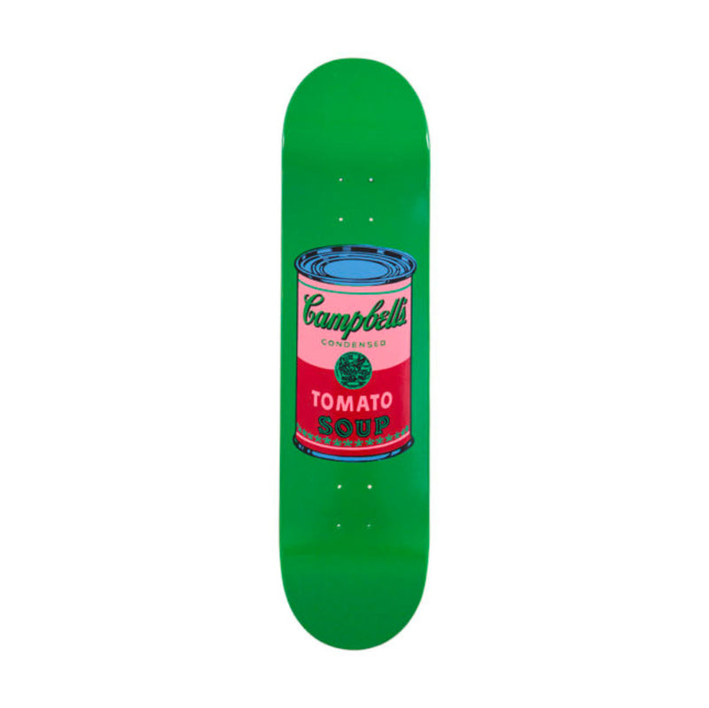 The Skateroom skateboard, Andy Warhol Colored Campbell's Soup blood