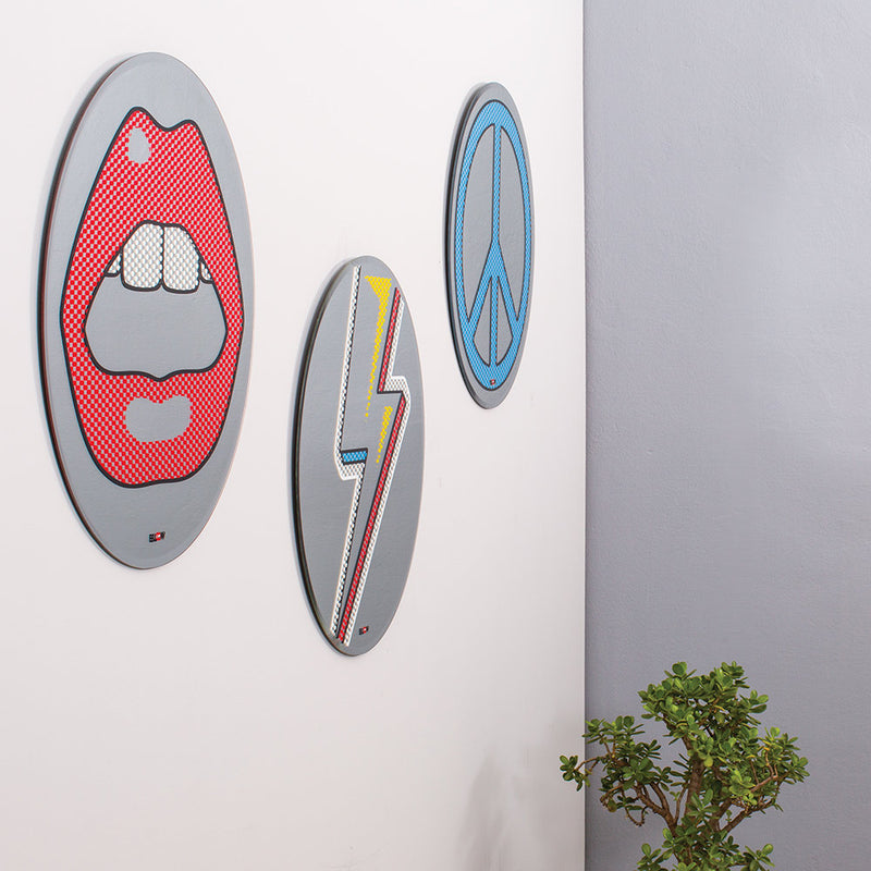 Seletti Mouth Mirror by Studio Job ø70cm