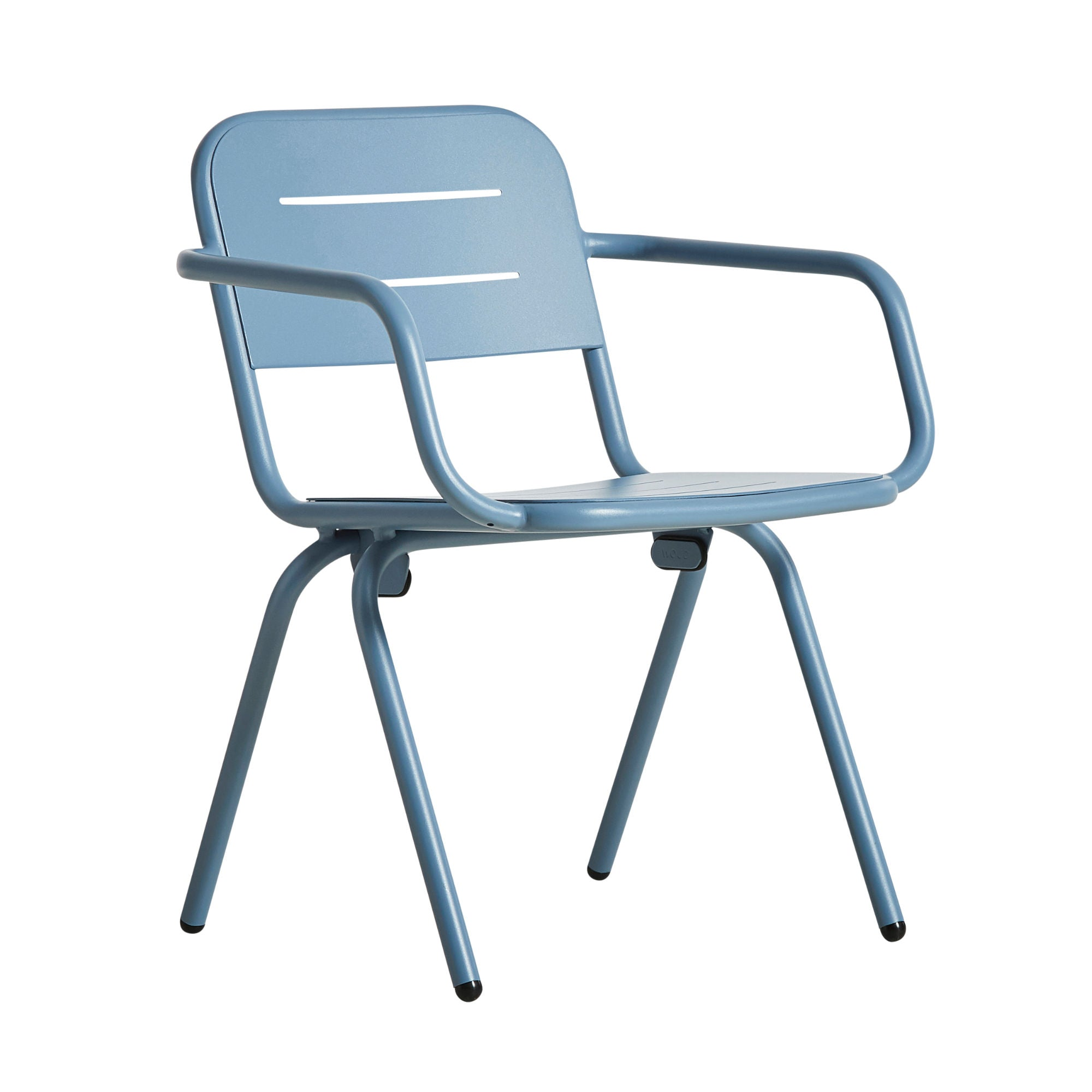 Woud Ray Dining Chair , Blue
