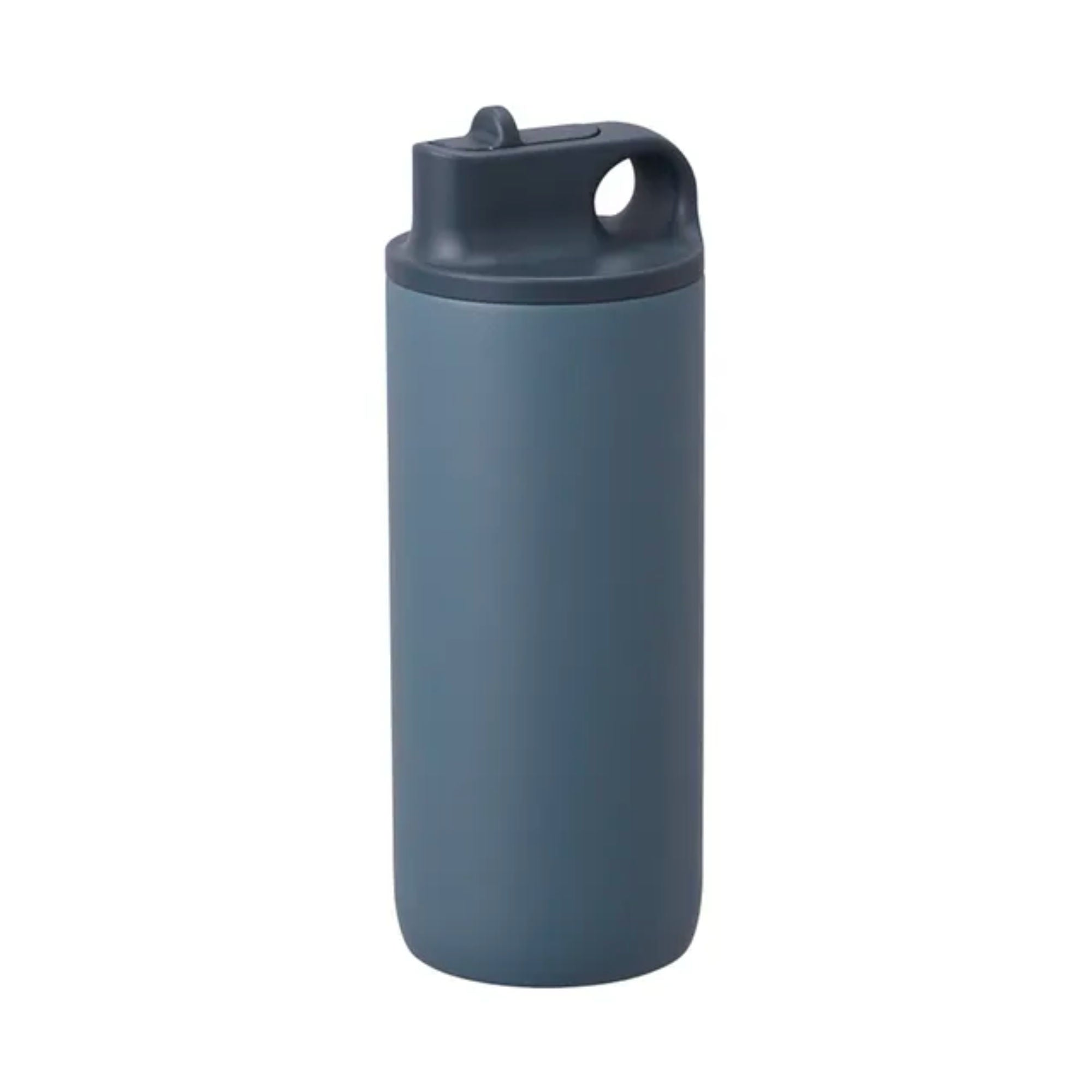 Kinto Active Tumbler Water Bottle 600ml , Blue Grey