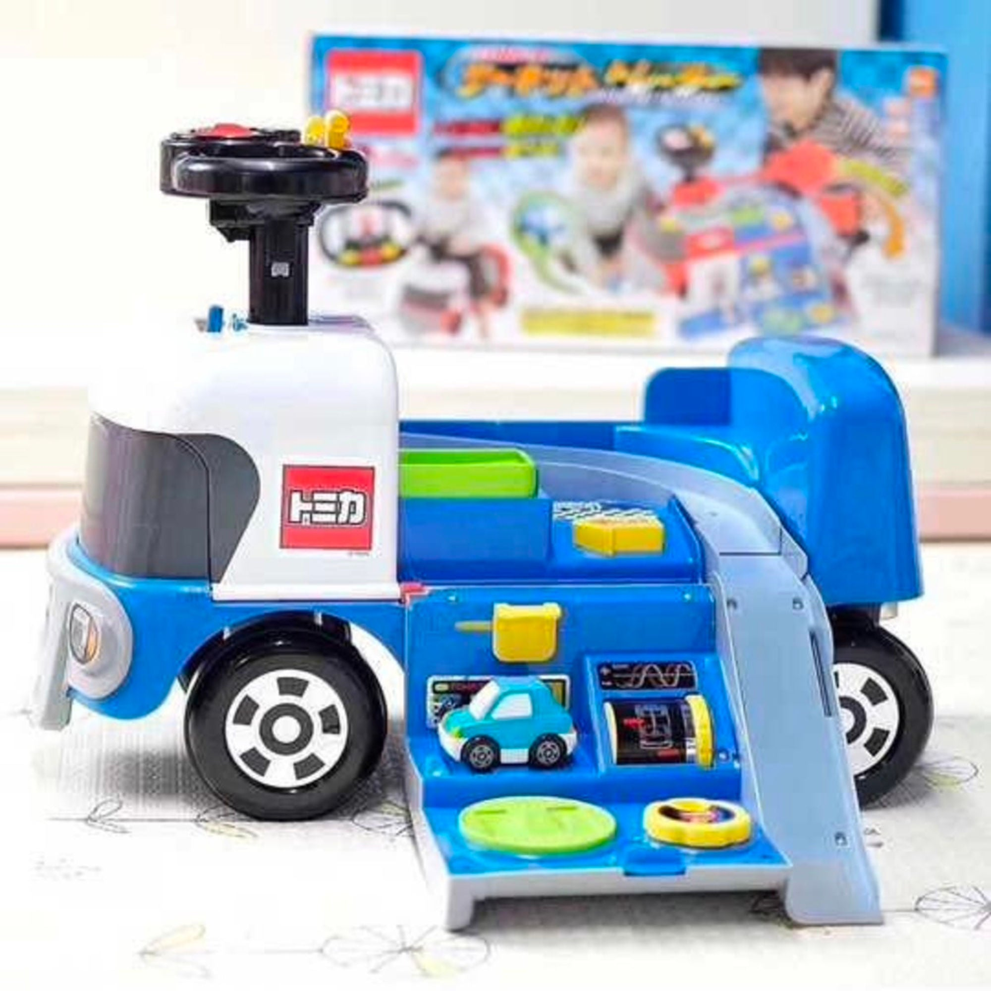 Ides Tomica Circuit Trailer , Blue