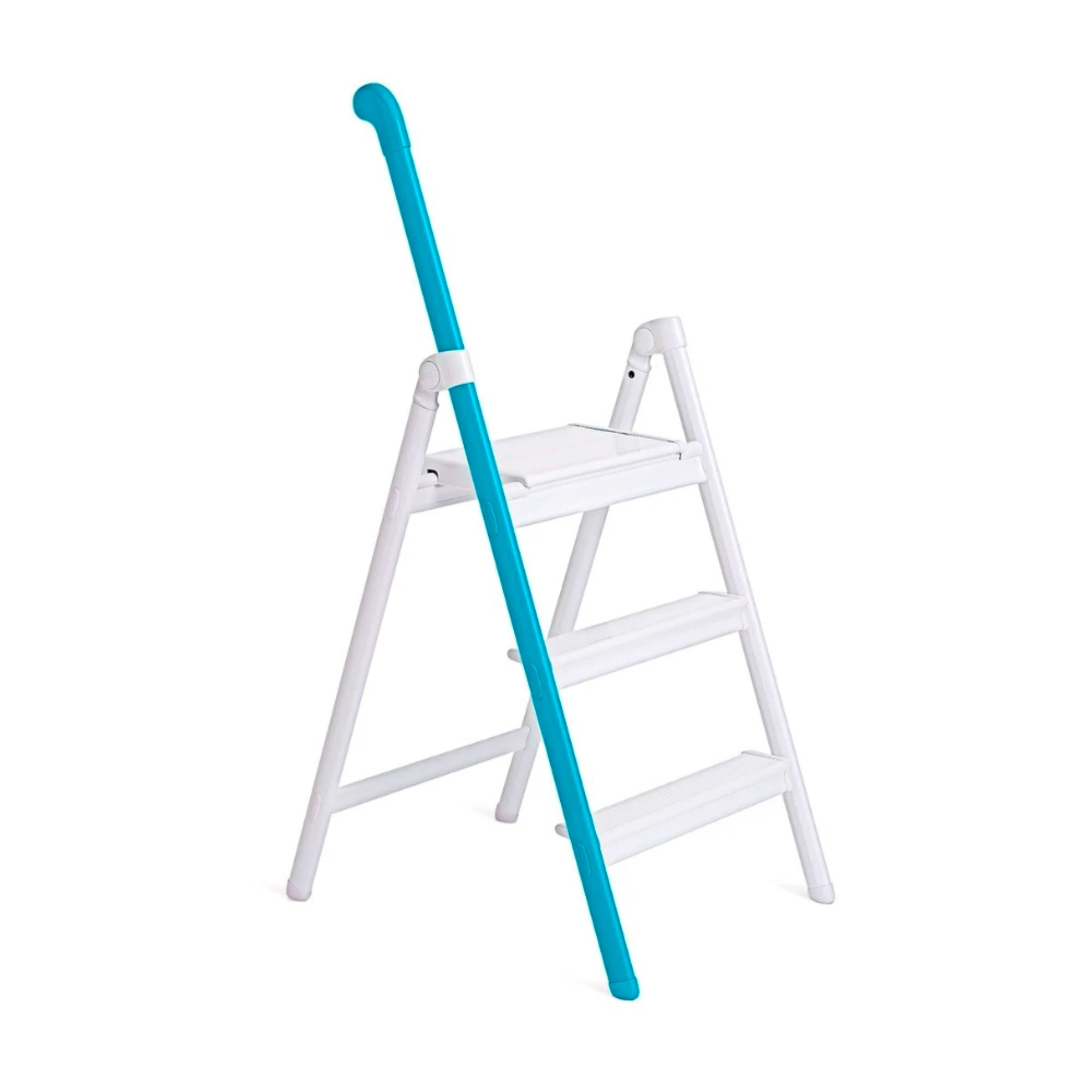Hasegawa Handle Step Ladder 3 Steps , Blue