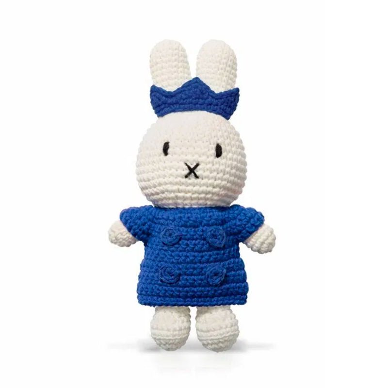 Just Dutch handmade doll, Miffy and her blue kingset