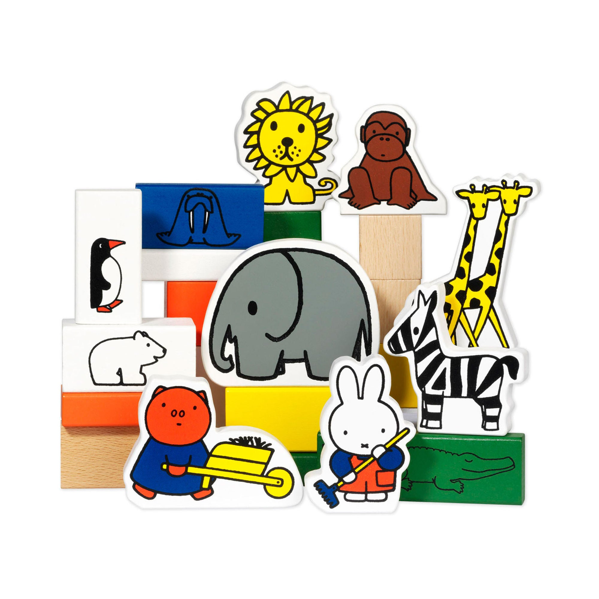 Miffy Wooden Block Zoo
