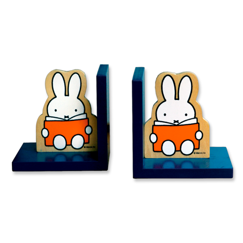 Bambolino Miffy Wooden Bookends