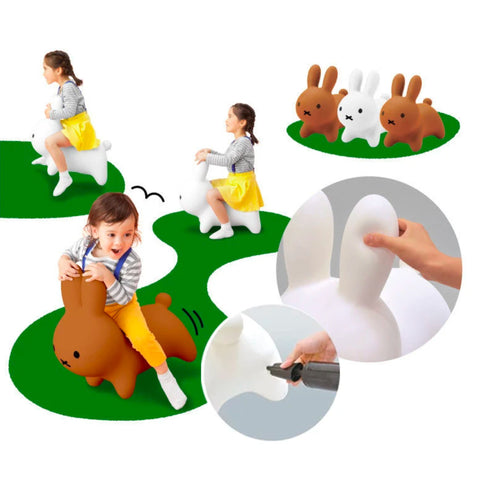 """Miffy Bon Bon"" Inflatable Bounce Toy"