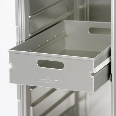 Bordbar Drawer aluminum