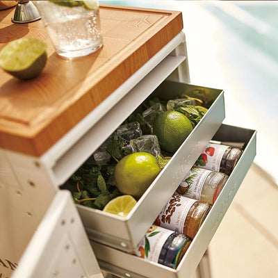 Bordbar Accessories Aluminum Small Drawer