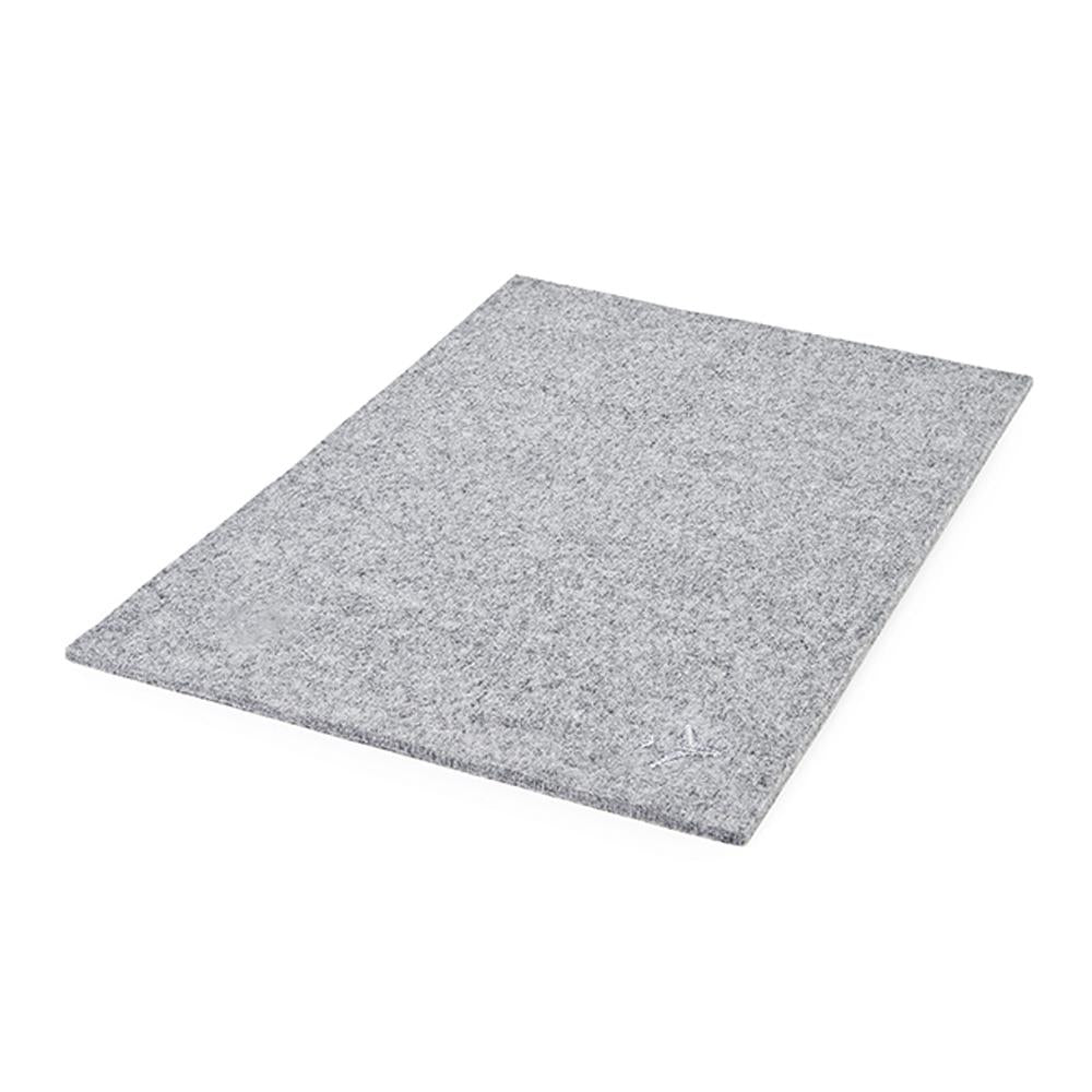 Bordbar Accessories Coverplate in Felt Light Grey