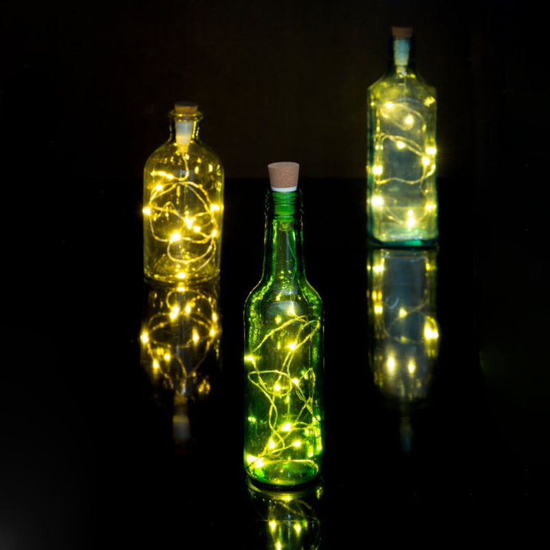 Suck UK Bottle String Light, 0.95 meter