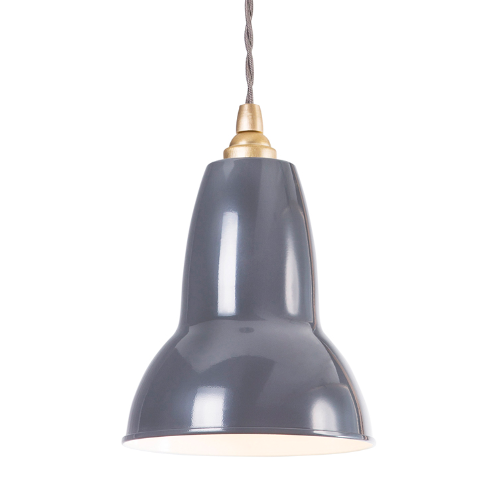 Original 1227 Brass Pendant Light