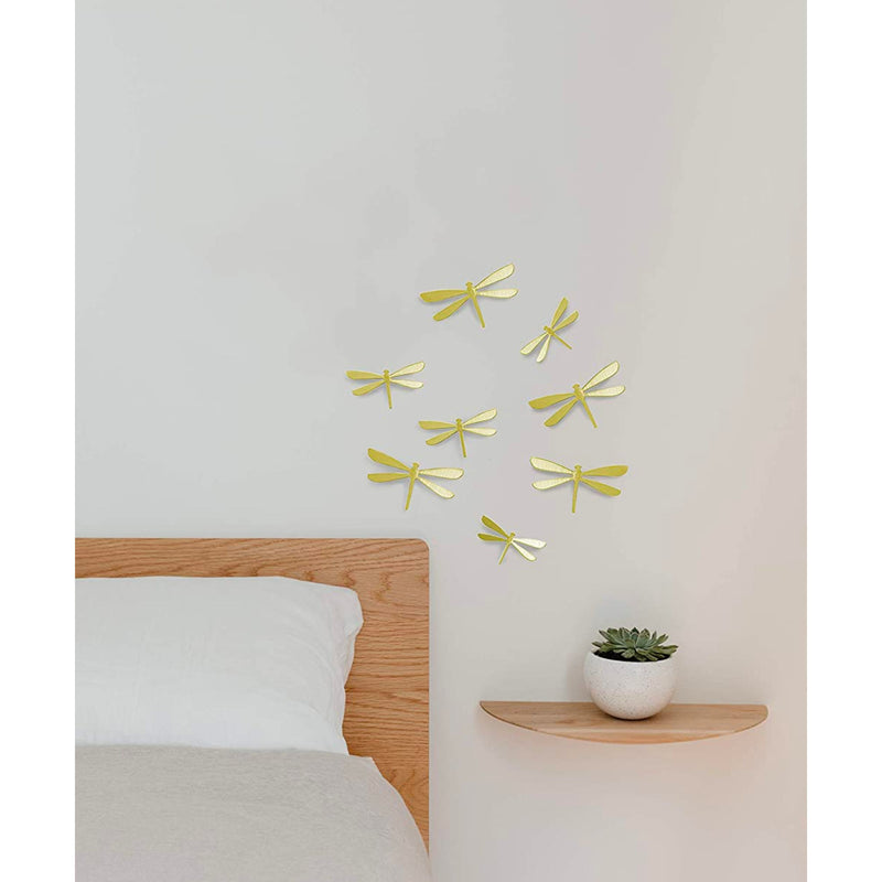 Umbra Wallflutter wall decor, brass