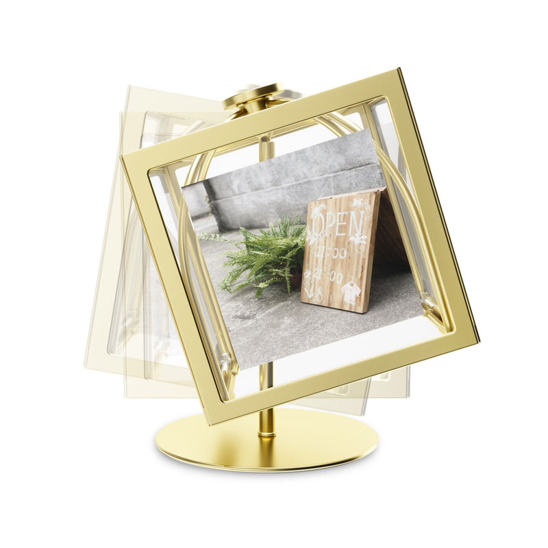 Umbra Rocker Photo Display , Brass