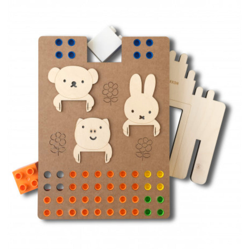 Biobuddi Miffy House brick toy