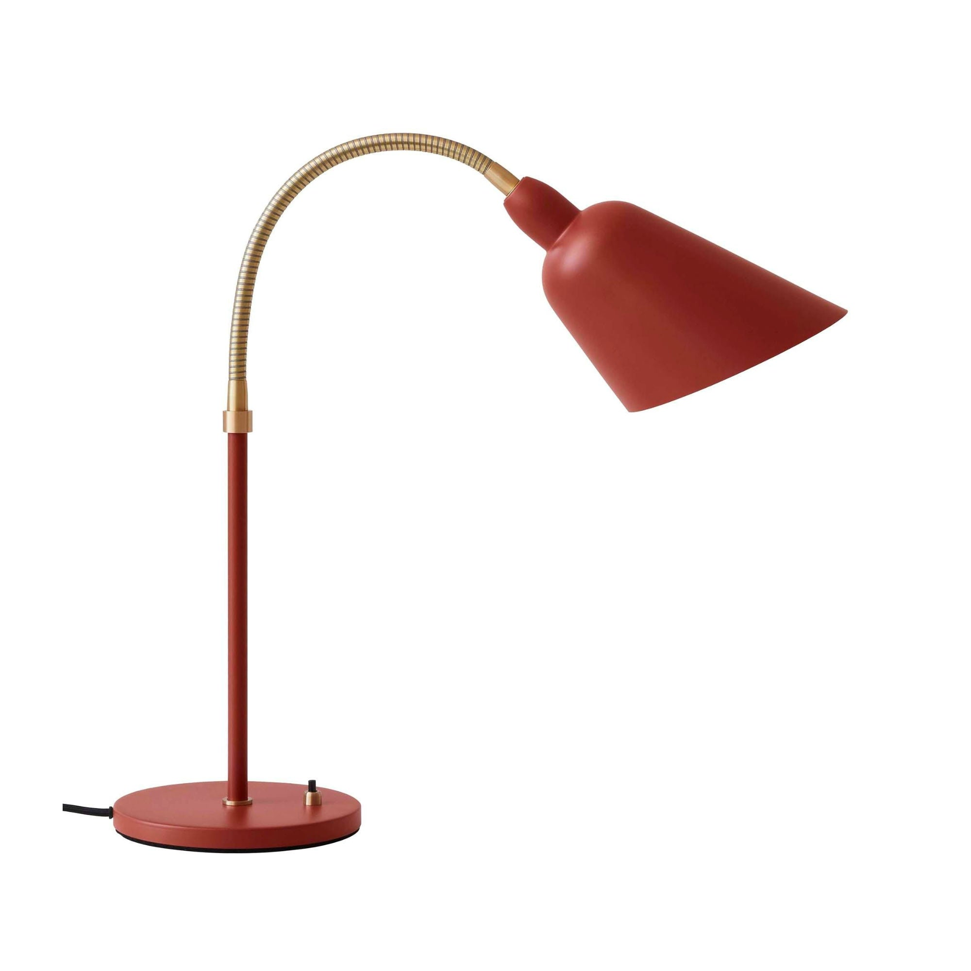AJ8 Bellevue table lamp, copper brown - brass