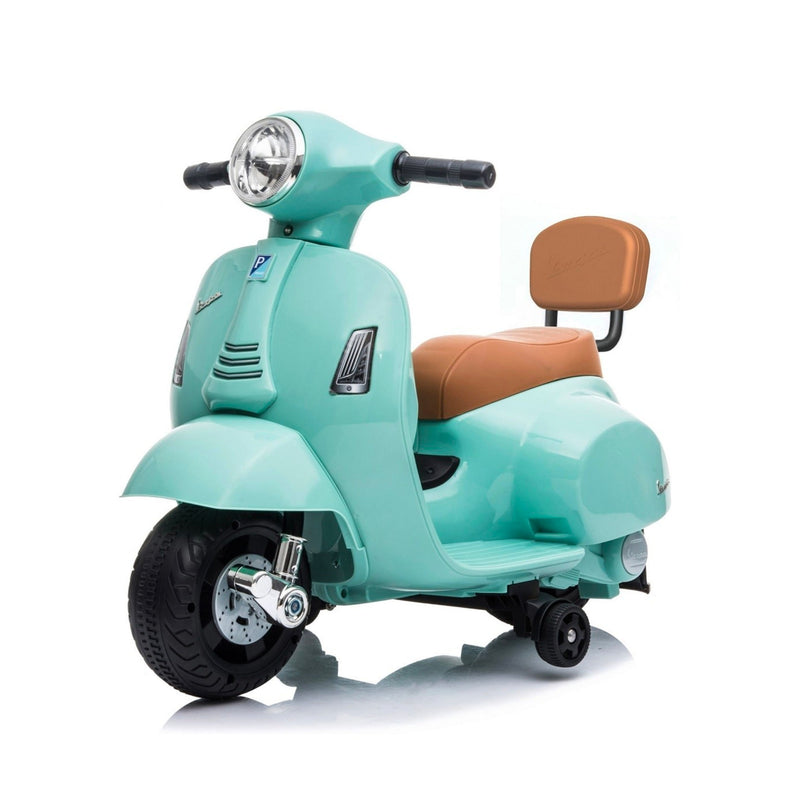 Mini Vespa GTS Scooter 6V Electric Ride On , Tiffany Blue