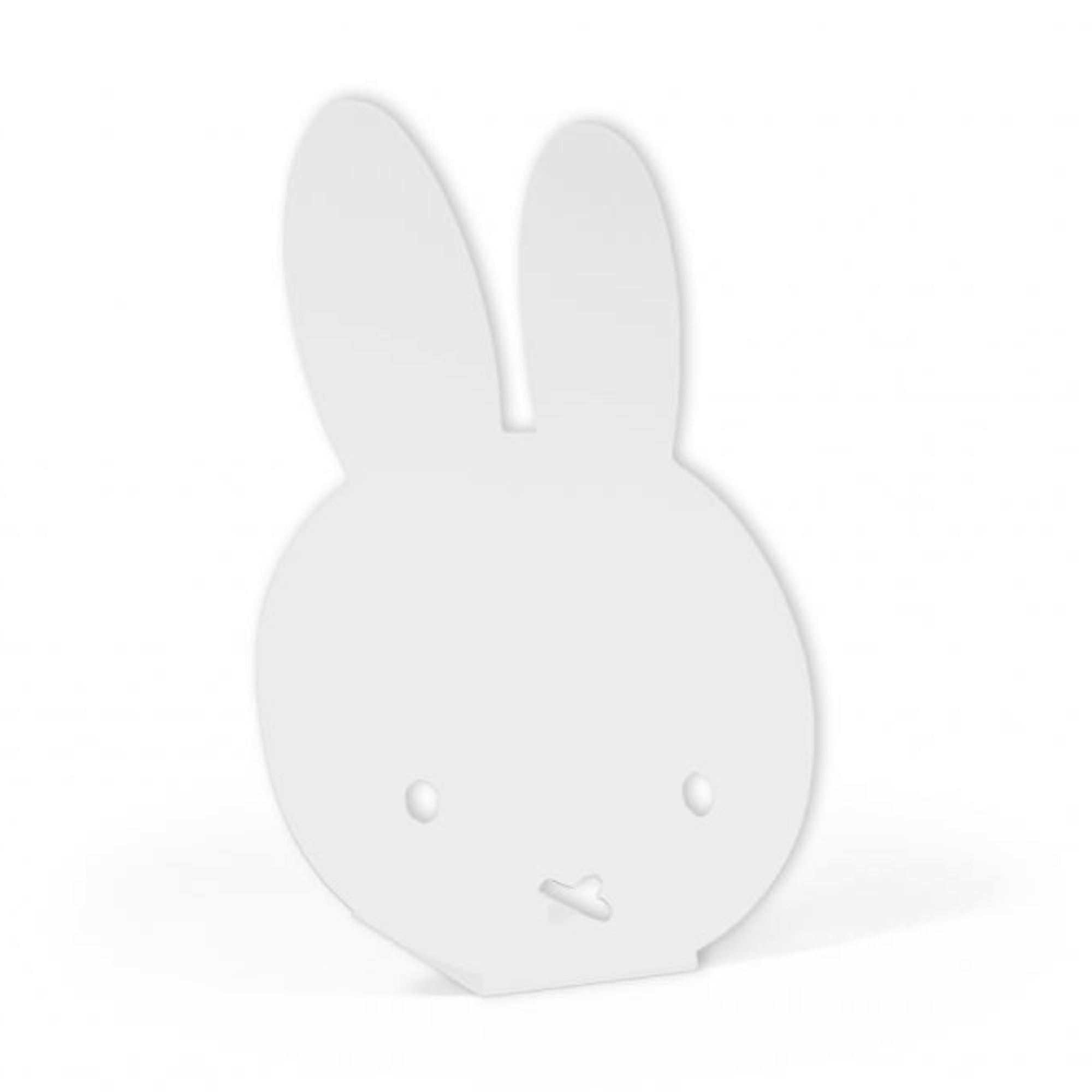 Miffy desk standing magnet board, white