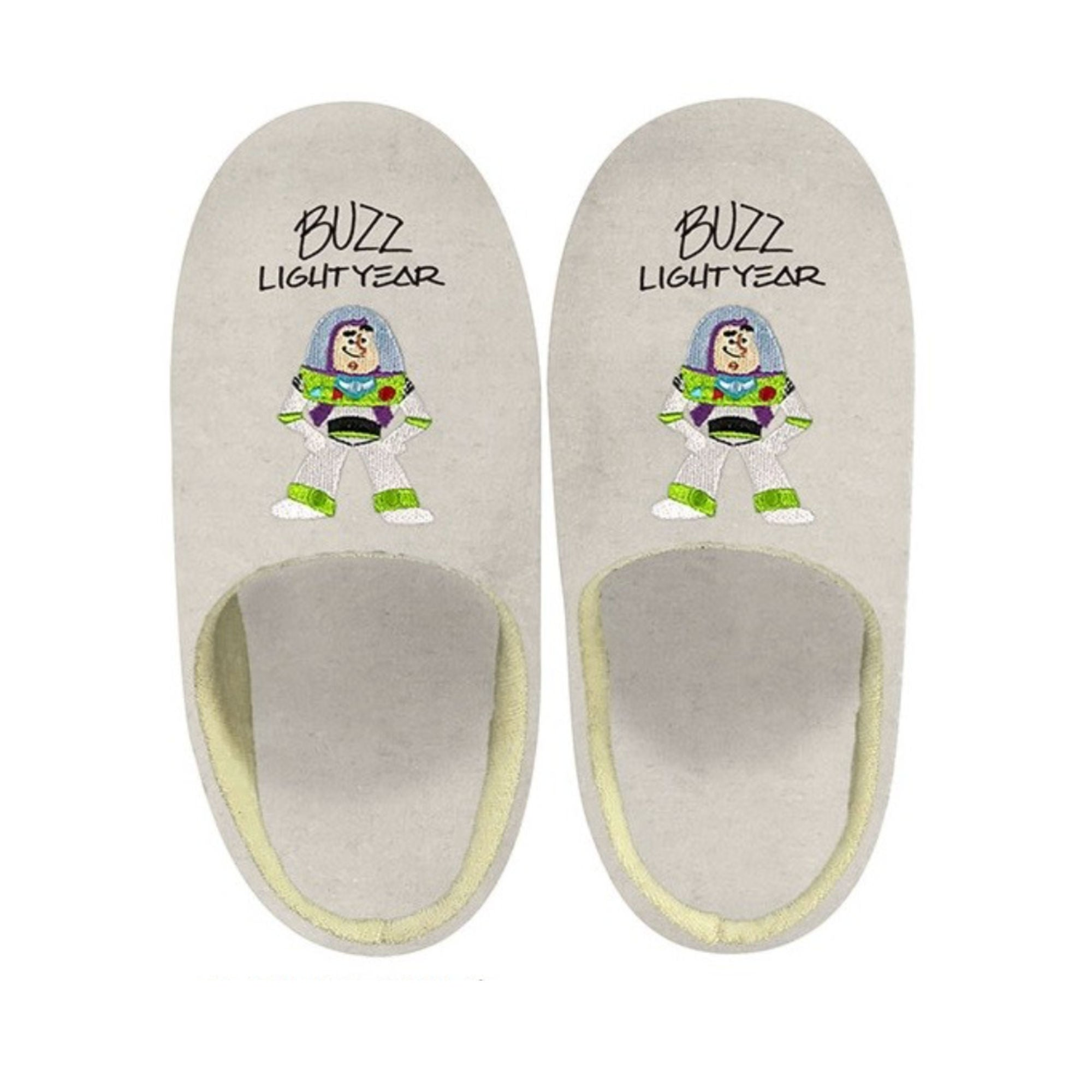 Toy Story Sign Art Slippers , Buzz
