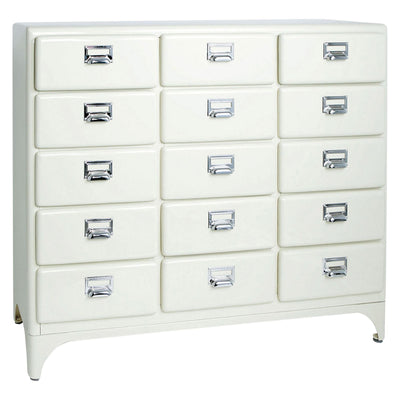 Dulton Cabinet 3 Column by 5 Drawers