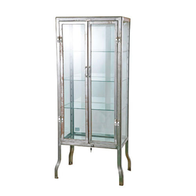 Dulton Doctor cabinet, large, raw
