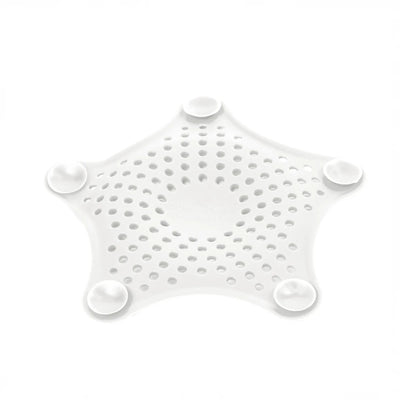 Umbra Starfish hair catcher, white