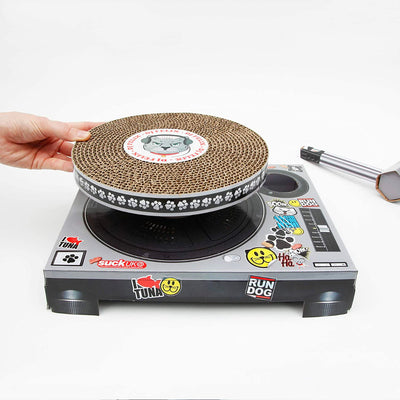 Suck UK Cat Scratch Turntable