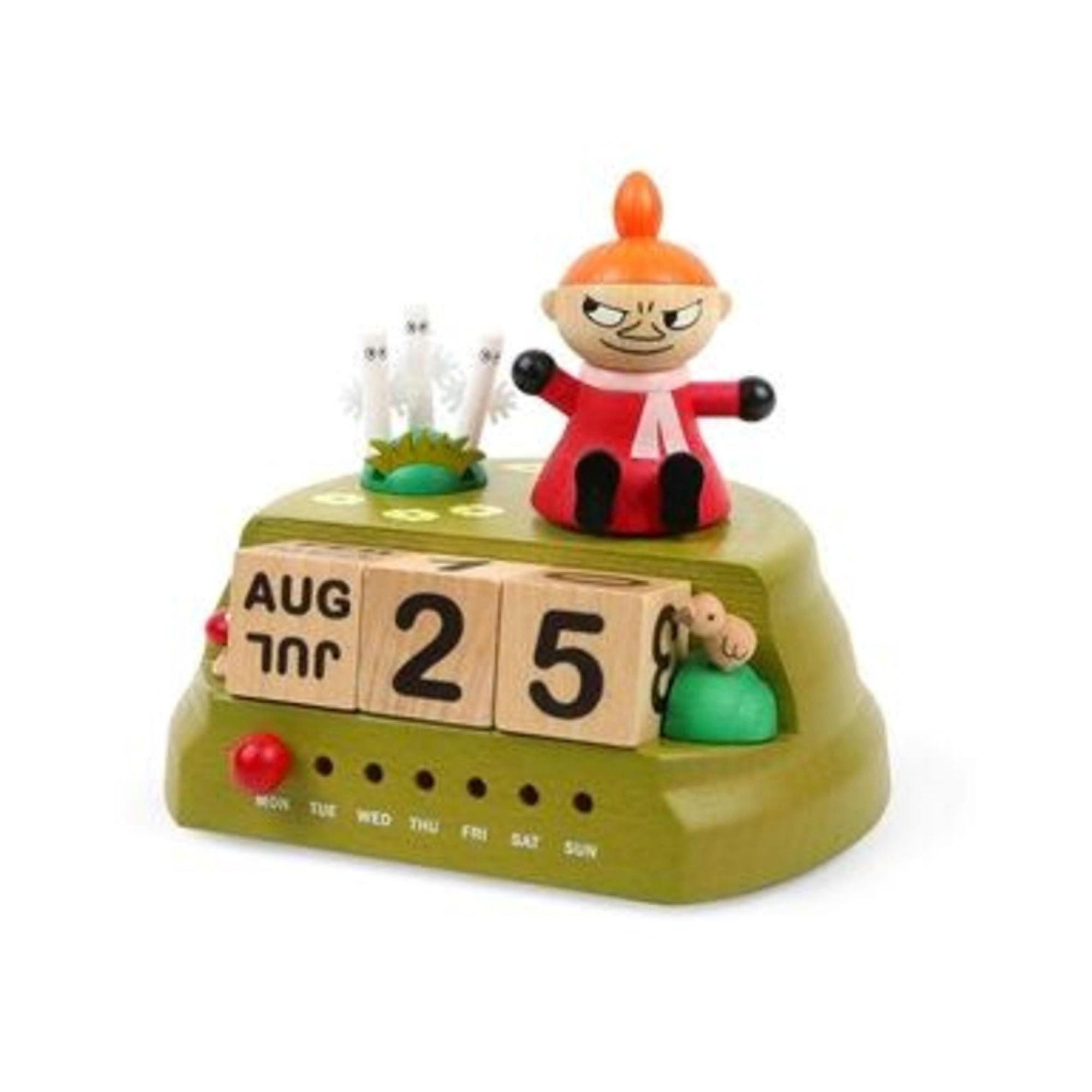 Wooderful Life wooden calendar music box, little my