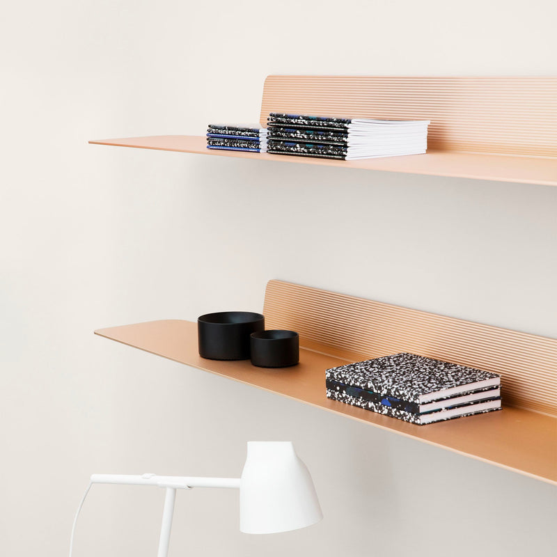 Normann Copenhagen Jet Wall Shelf 80cm , Champagne