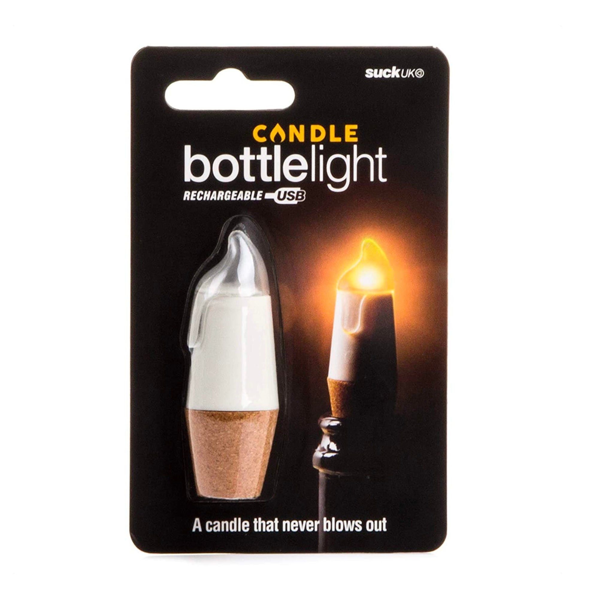 Suck UK Candle Bottle Light