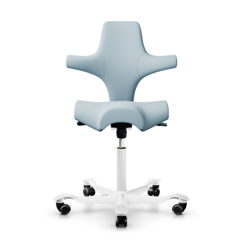 HÅG Capisco 8106 ergonomic chair, fabric, steelcut trio713