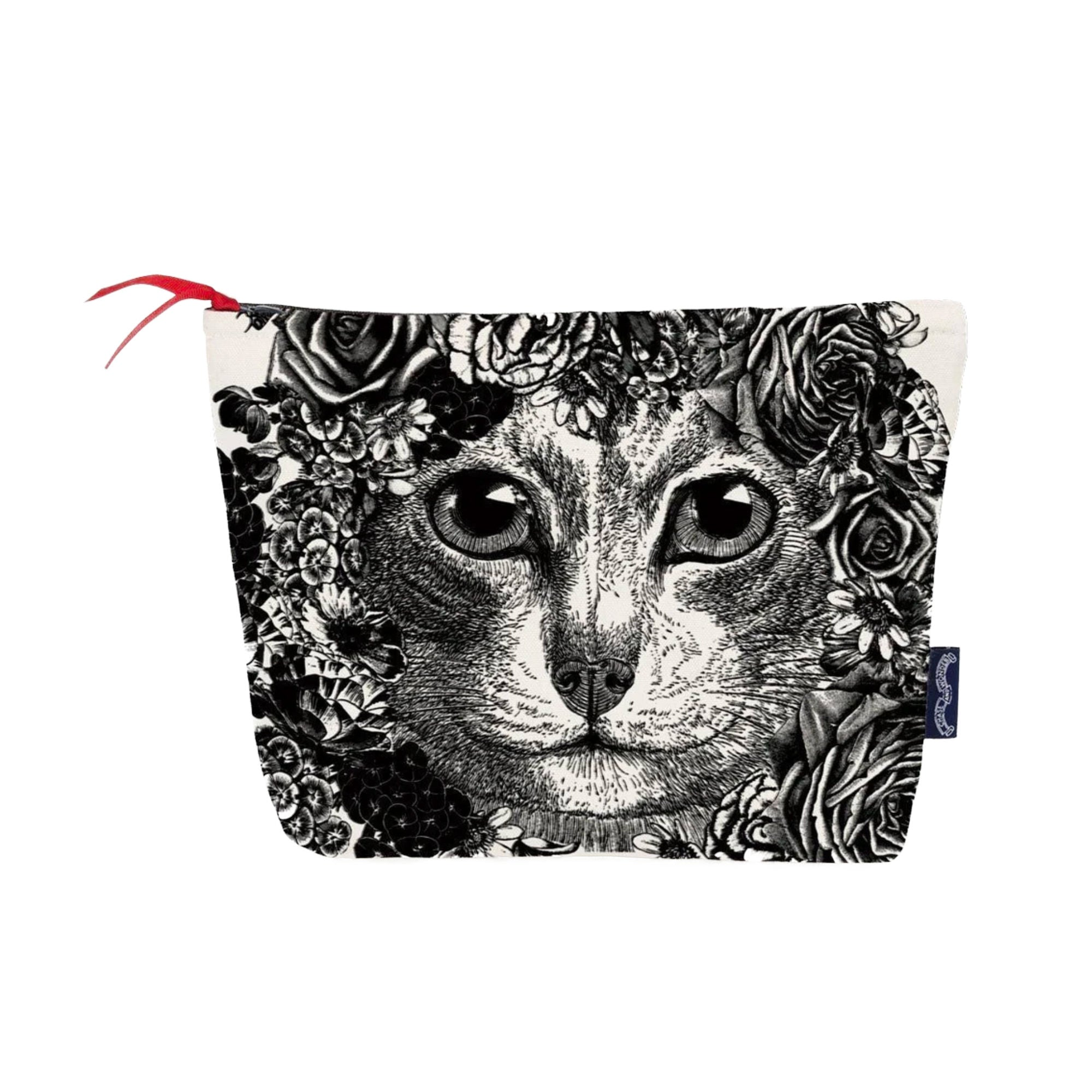 Chase & Wonder Flower Cat Wash Bag
