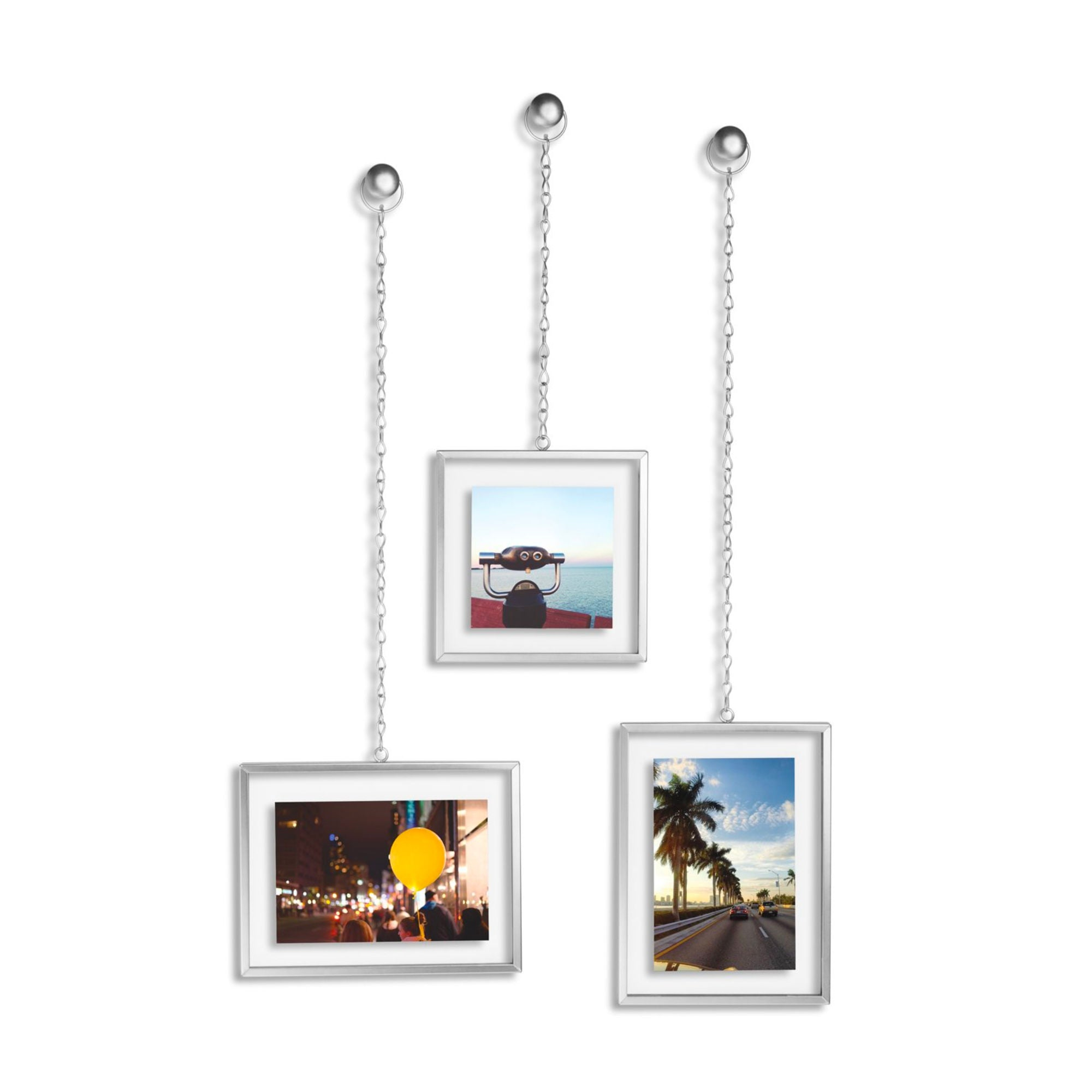 Umbra Fotochain Picture Frame Set , Nickel