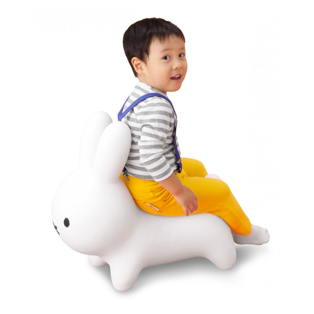 Miffy Bruna Bonbon Soft Bounce Chair , White